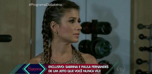 Paula Fernandes fala sobre depressão, cintura fina de 56 cm e primeiro beijo aos 19 anos - Reprodução/TV Record