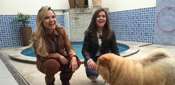 Eliana visita Maisa para seu programa que irá ao ar neste domingo (19) no SBT - Divulgação/SBT