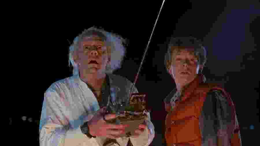 """Cena do filme """"De Volta Para o Futuro"""" (1985) - Reprodução"""