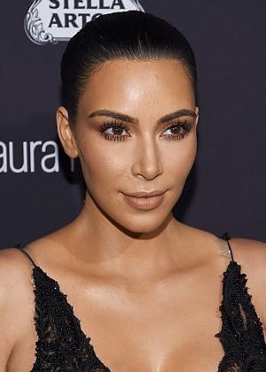 A socialite Kim Kardashian, que teve joias roubadas em um assalto em Paris  - Getty Images
