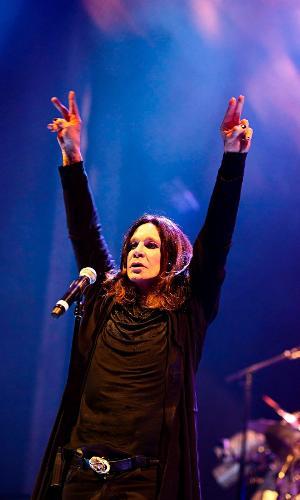 28.nov.2016 - Ozzy Osbourne se apresenta com o Black Sabbath em Porto Alegre