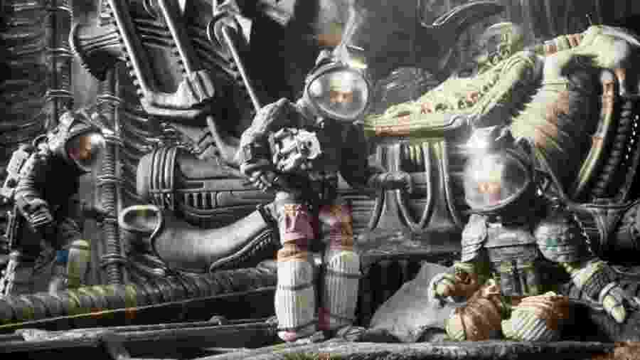 """Cena de """"Alien, o Oitavo Passageiro"""" (1979), de Ridley Scott - Reprodução"""