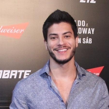 Arthur Aguiar no UFC 212 que aconteceu na Jeunesse Arena na Barra da Tijuca, no Rio  - AgNews