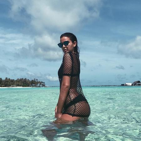 Bruna Marquezine nas Ilhas Maldivas - Reprodução/Instagram/brumarquezine