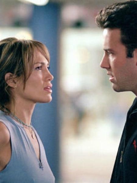 """Jennifer Lopez e Ben Affleck em """"Contato de Risco"""" (2003) - Divulgação"""