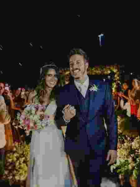 Nataly Mega e Fábio Porchat se casam no Rio de Janeiro - Reprodução/Instagram