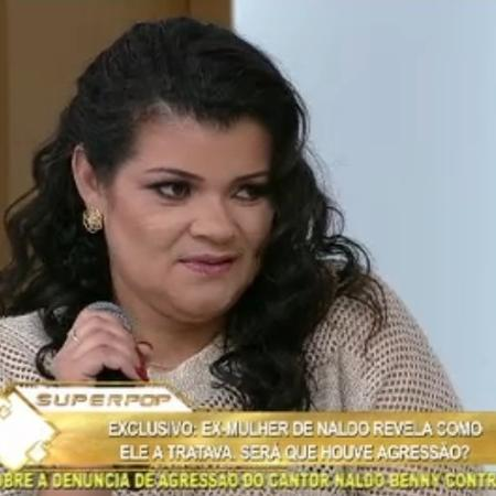 Branka Silva, ex-mulher de Naldo Benny, comentou a prisão  - Reprodução