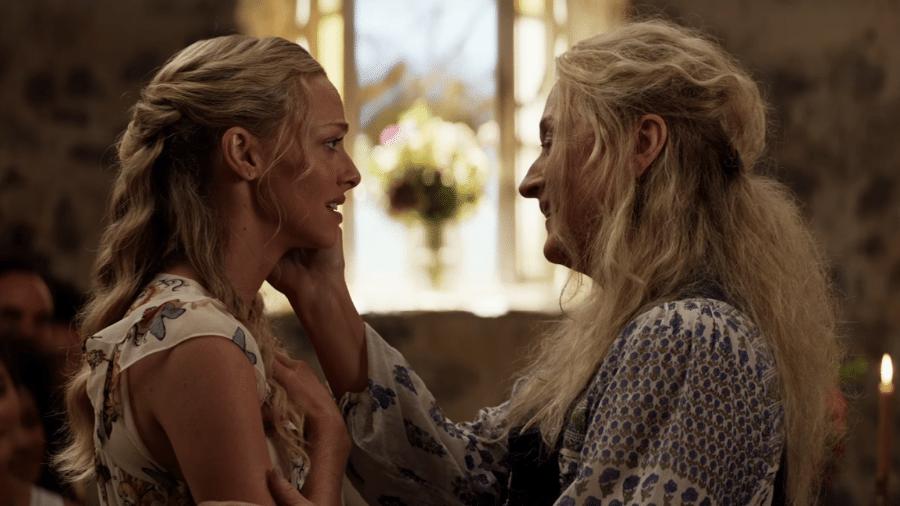 """Cena do filme """"Mamma Mia! Lá Vamos Nós De Novo"""" - Reprodução"""