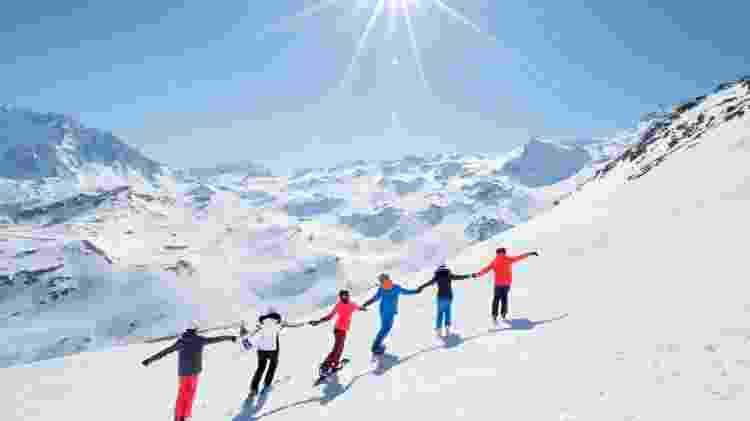 Neve até a primavera - P Tournaire/Val Thorens - P Tournaire/Val Thorens