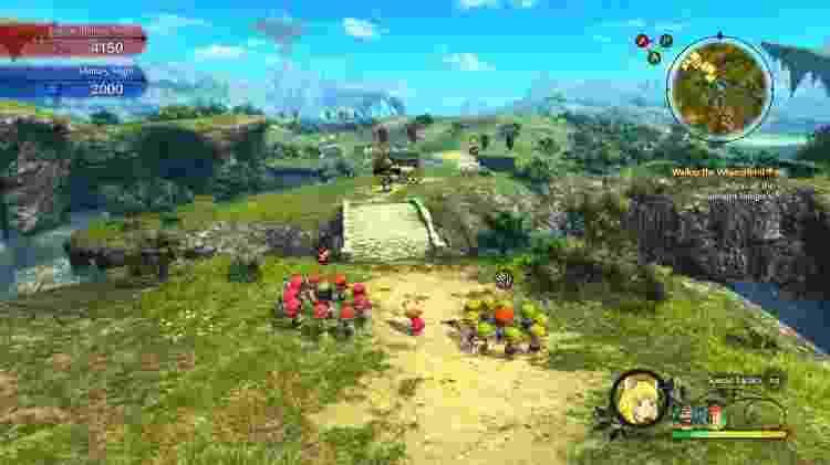 Além dos combates em tempo real, você comanda batalhas estratégicas para proteger o reino. - Reprodução/Ni No Kuni II