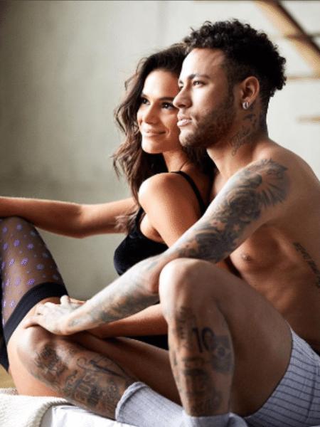 Neymar se declara para Bruna Marquezine - Reprodução/Instagram/neymarjr