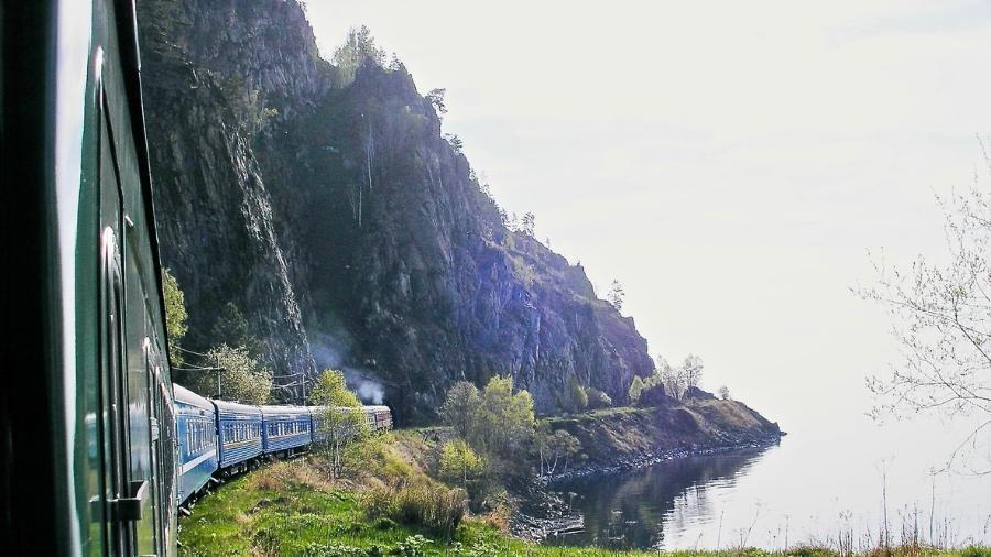 O trem da Transiberiana - Getty Images