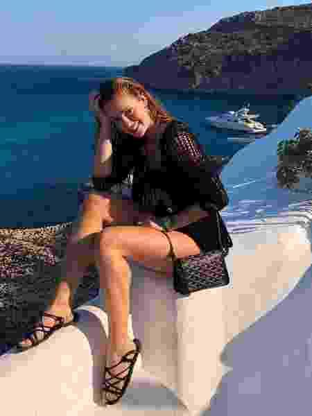 Marina Ruy Barbosa continua na Grécia causando inveja com suas fotos - Reprodução/Instagram