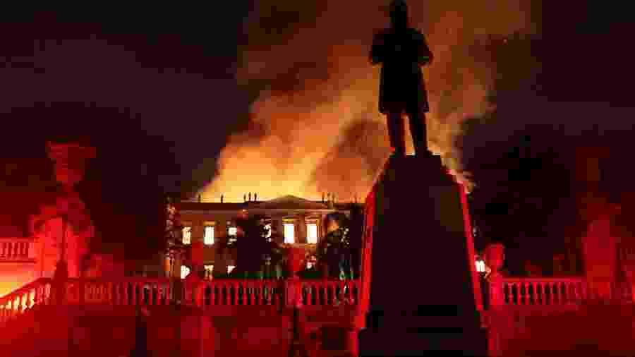 Museu Nacional foi destruído pelo fogo em setembro. Instituição trabalha nos projetos antes de iniciar a reconstrução - REUTERS/Ricardo Moraes