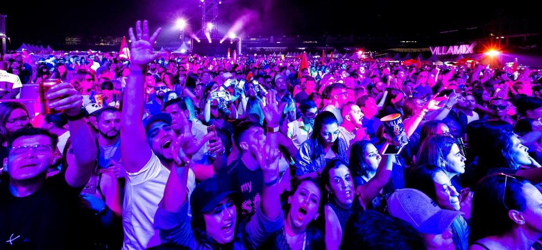 Público curtiu 11 horas de música na edição paulistana do VillaMix Festival - Mariana Pekin/UOL