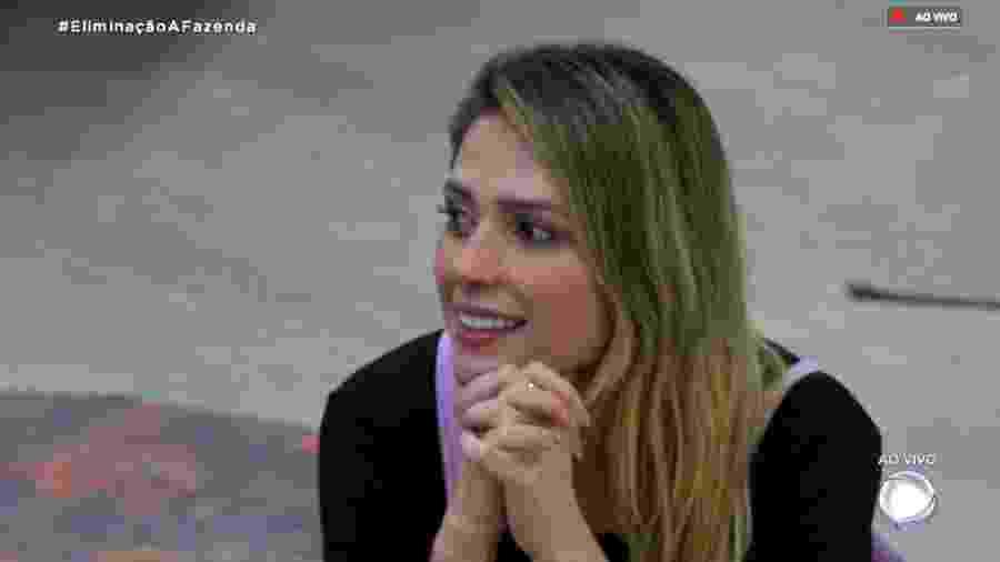 """Nadja Pessoa volta a discutir com Gabi Prado em """"A Fazenda 10"""" - Reprodução/RecordTV"""