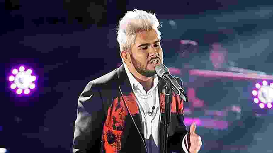 """Ángel Elizondo, finalista do """"La Voz Mexico"""" - Divulgação"""