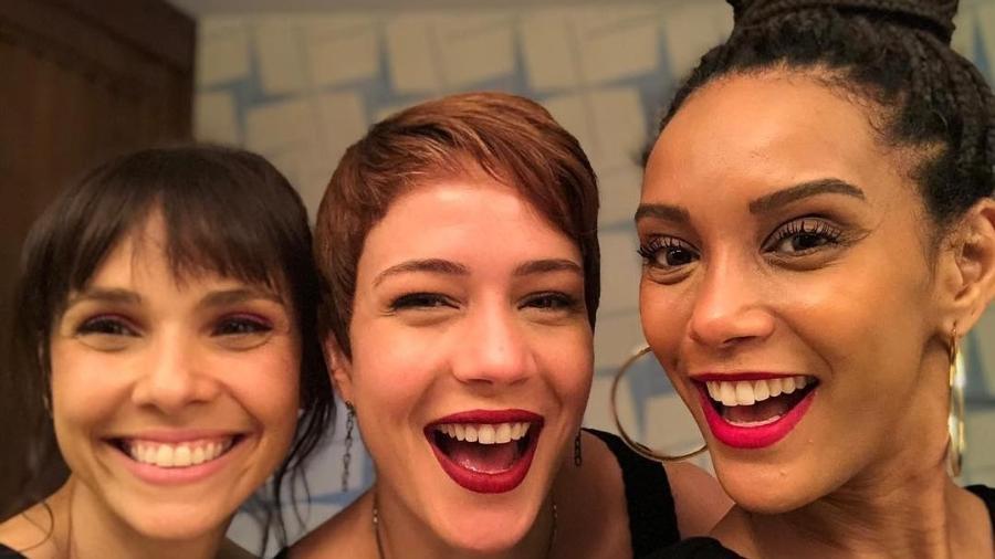 Débora Falabella, Leandra Leal e Taís Araújo - Reprodução/Instagram