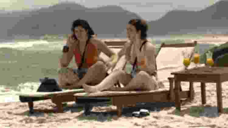"""No """"Tá no Ar"""", mulheres esperam o ex no """"De Férias com Meu Ex Presidente""""  - Reprodução/TV Globo - Reprodução/TV Globo"""