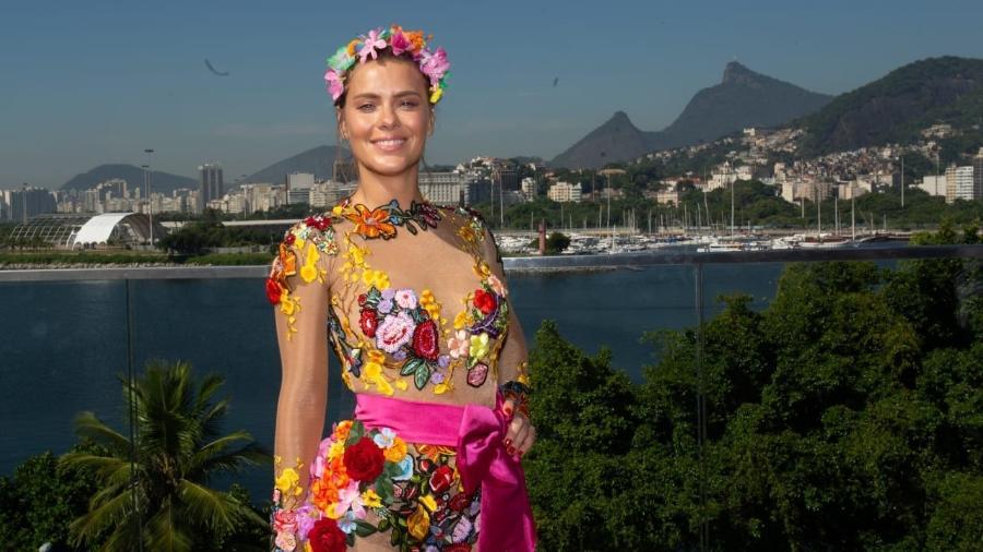 Carolina Dieckmann no aquecimento do Bloco da Preta, no Rio de Janeiro - Douglas Shineidr/UOL
