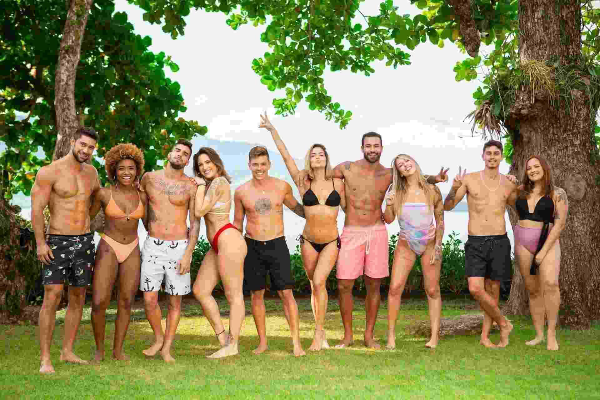 de férias com ex - todos - Divulgação/MTV