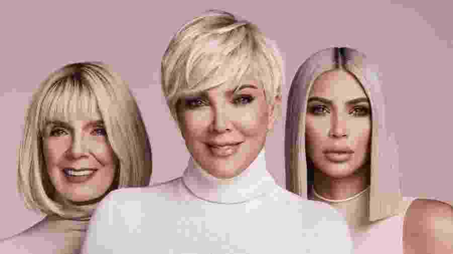 Mary Jo, Kris Jenner e Kim Kardashian  - Reprodução/Instagram