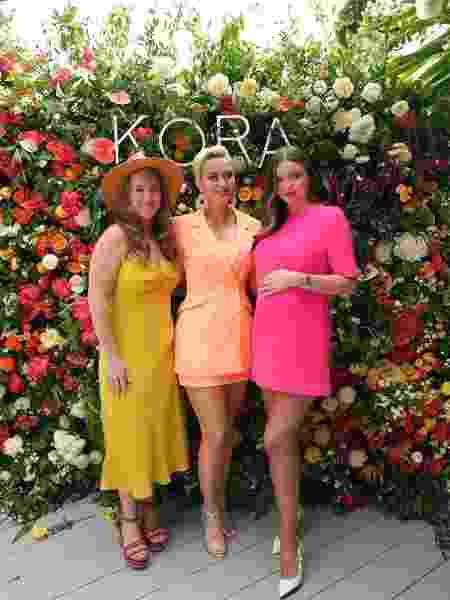 Katy Perry (centro) e Miranda Kerr (dir.) - Reprodução/Instagram