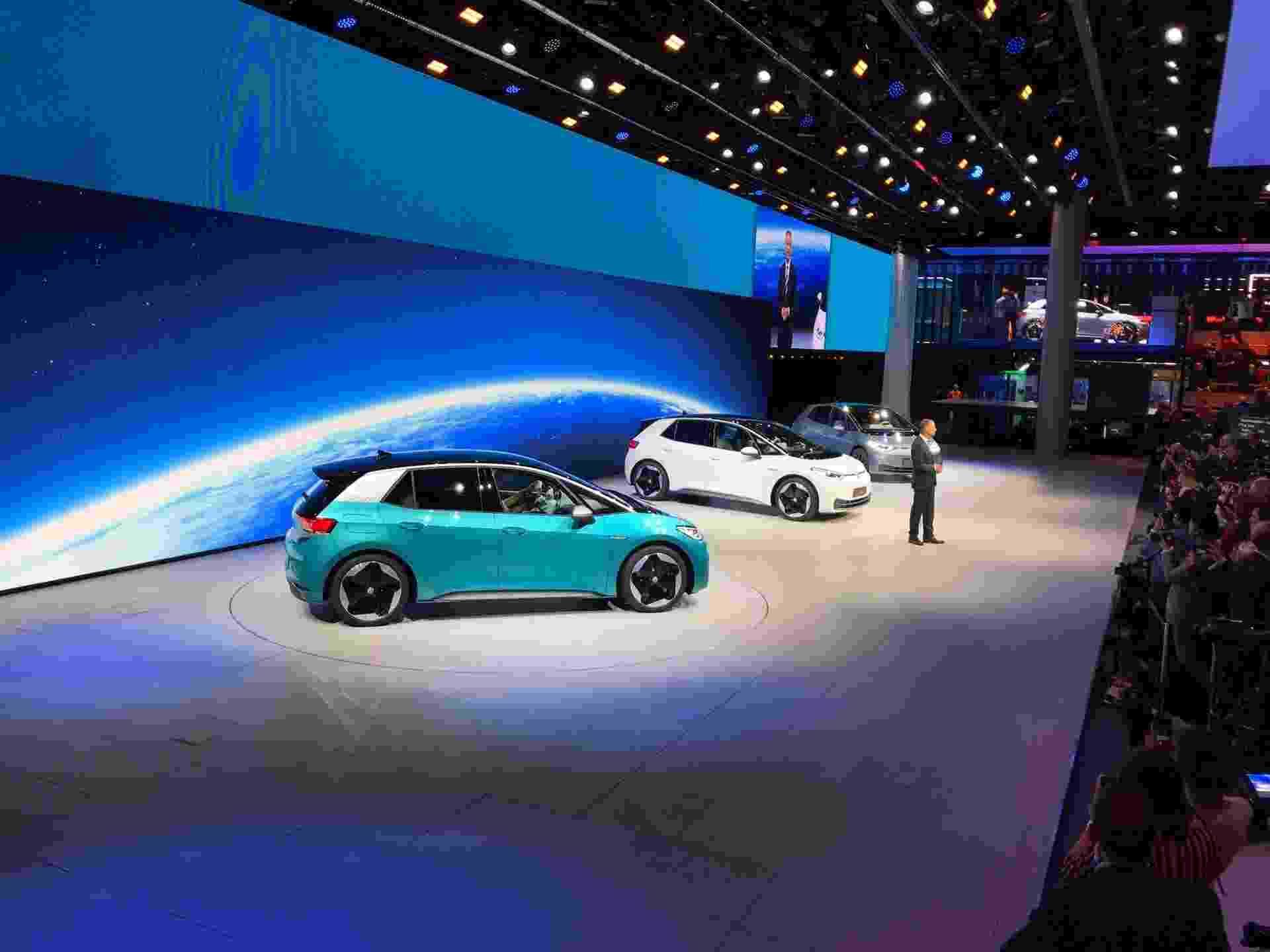 Volkswagen ID.3 é apresentado no Salão de Frankfurt - Ricardo Ribeiro/UOL