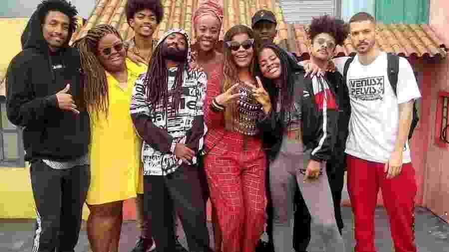 Heavy Baile com MC Carol & Tati Quebra Barraco no Espaço Favela do Rock in Rio 2019 - Reprodução/Instagram