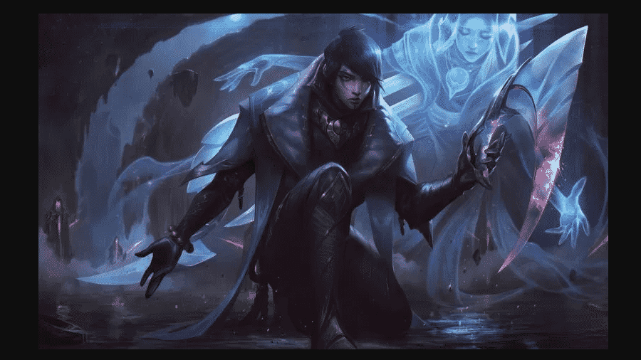 Arte de Aphelios, novo campeão do League of Legends - Divulgação/Riot Games