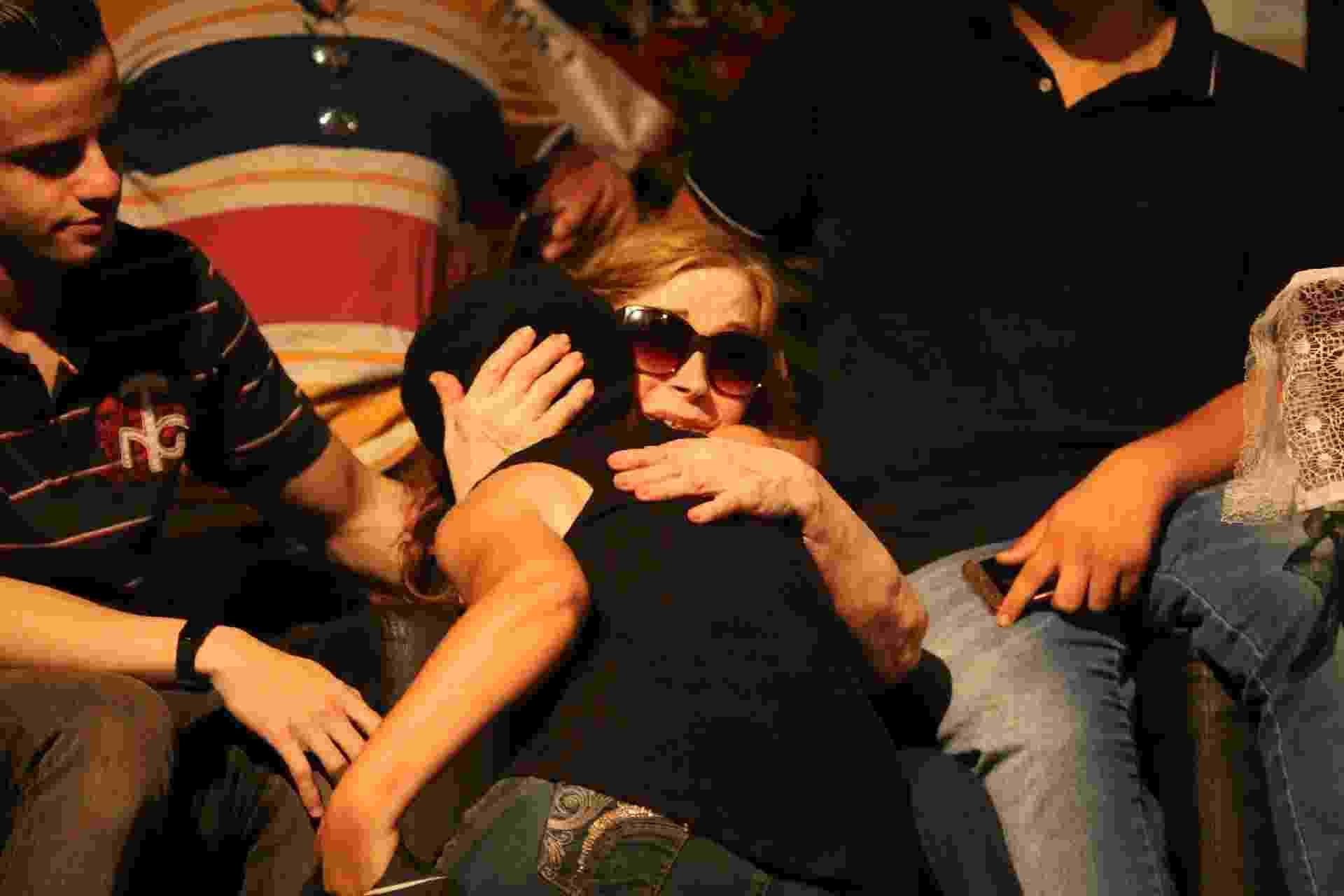 Familiares, amigos e fãs se despedem de Zé do Caixão durante velório em SP - Amauri Nehn/Brazil News