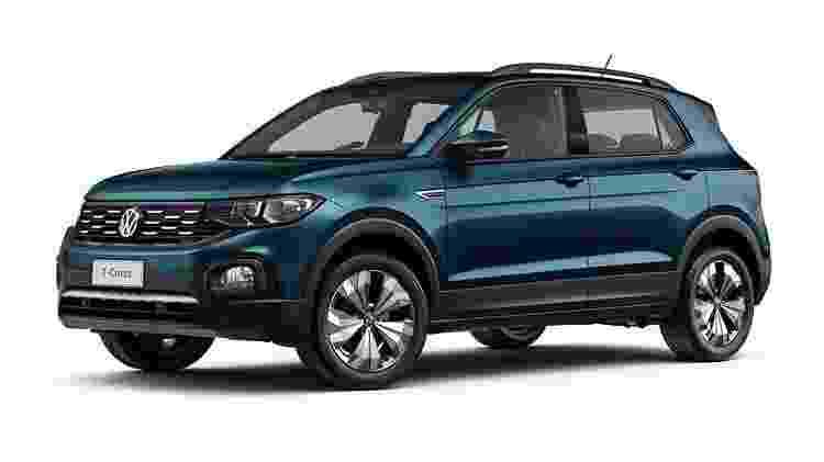 VW T-Cross Comfortline - Divulgação - Divulgação