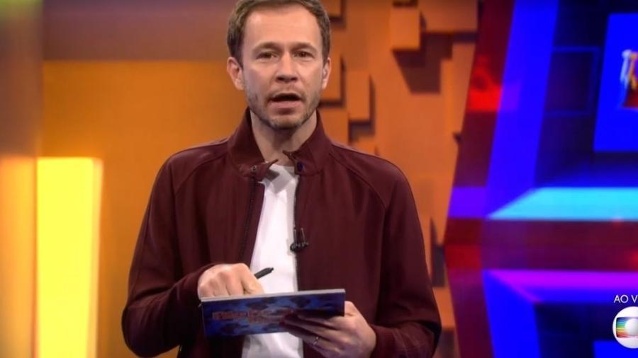 Tiago Leifer explica que formação do 13º paredão será amanhã - Reprodução/TV Globo