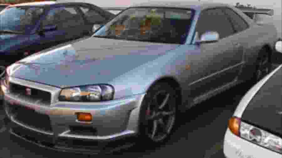 Nissan Skyline que pertenceu a Paul Walker - Reprodução