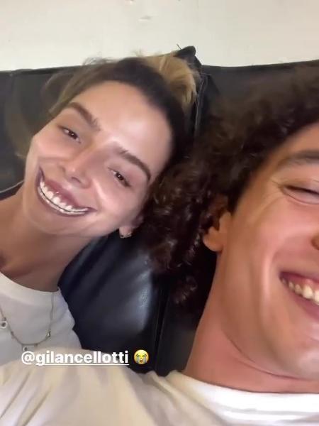 Giovanna Lancellotti brincou com o ator em vídeo - Reprodução/Instagram @jorgelopez_as