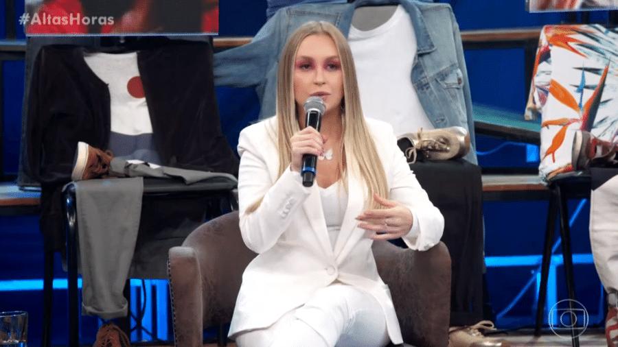 """Carla Diaz no programa """"Altas Horas"""" - Reprodução / TV Globo"""