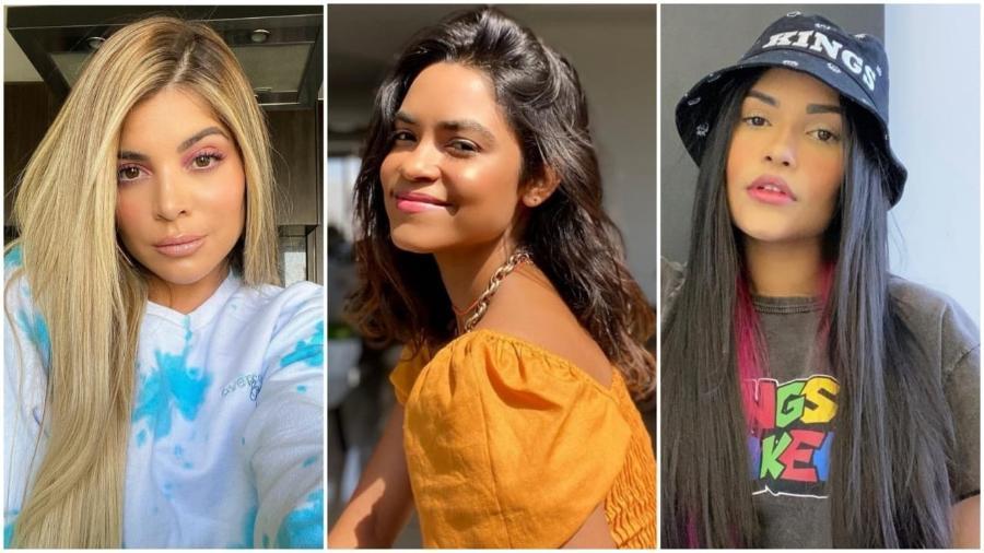 GKay, Lucy Alves e Flay sofreram diferentes situações de preconceito - Reprodução / Instagram