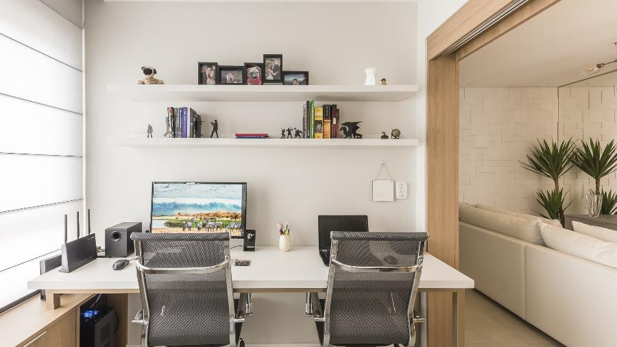 Home office, projeto Thais Schiavo Arquitetura e Interiores - Amauri Fujii