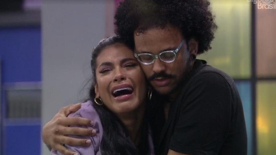 BBB 21: Pocah chora com eliminação de Carla Diaz - Reprodução/ Globoplay