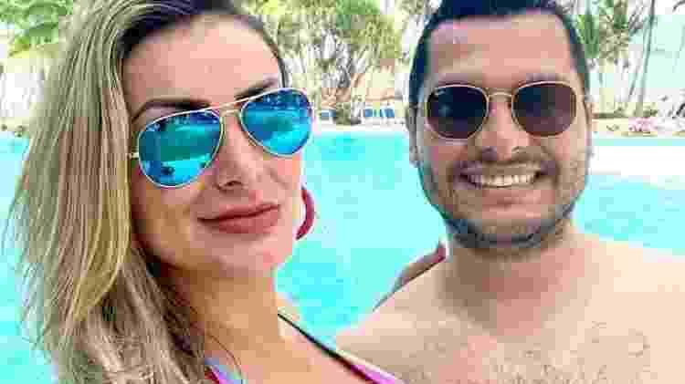 Andressa Urach e Thiago Lopes - Reprodução / Instagram - Reprodução / Instagram