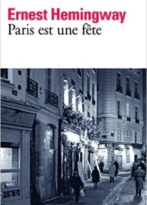 """Capa da edição francesa de """"Paris É uma Festa"""" (""""Paris Est une Fête"""")"""