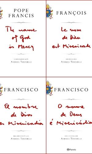 24.nov.2015 - Capa do primeiro livro do papa Francisco é divulgada pela editora italiana Piemme. O título será lançado no dia 12 de janeiro em 84 países e seis idiomas.