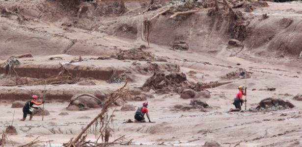 Rompimento de barragem encheu cidade de Mariana (MG) de lama de rejeitos de minério de ferro
