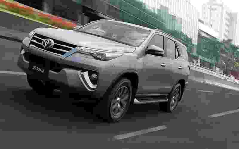 Toyota SW4 2016 - Divulgação
