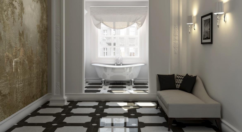 A marca Devon&Devon (www.devon-devon.com) desenvolveu a luxuosa banheira que ganhou o nome de Lamé. A peça é inspirada nos modelos clássicos ingleses, com leve brilho na parte externa e pés, torneiras e duchas feitas de alumínio