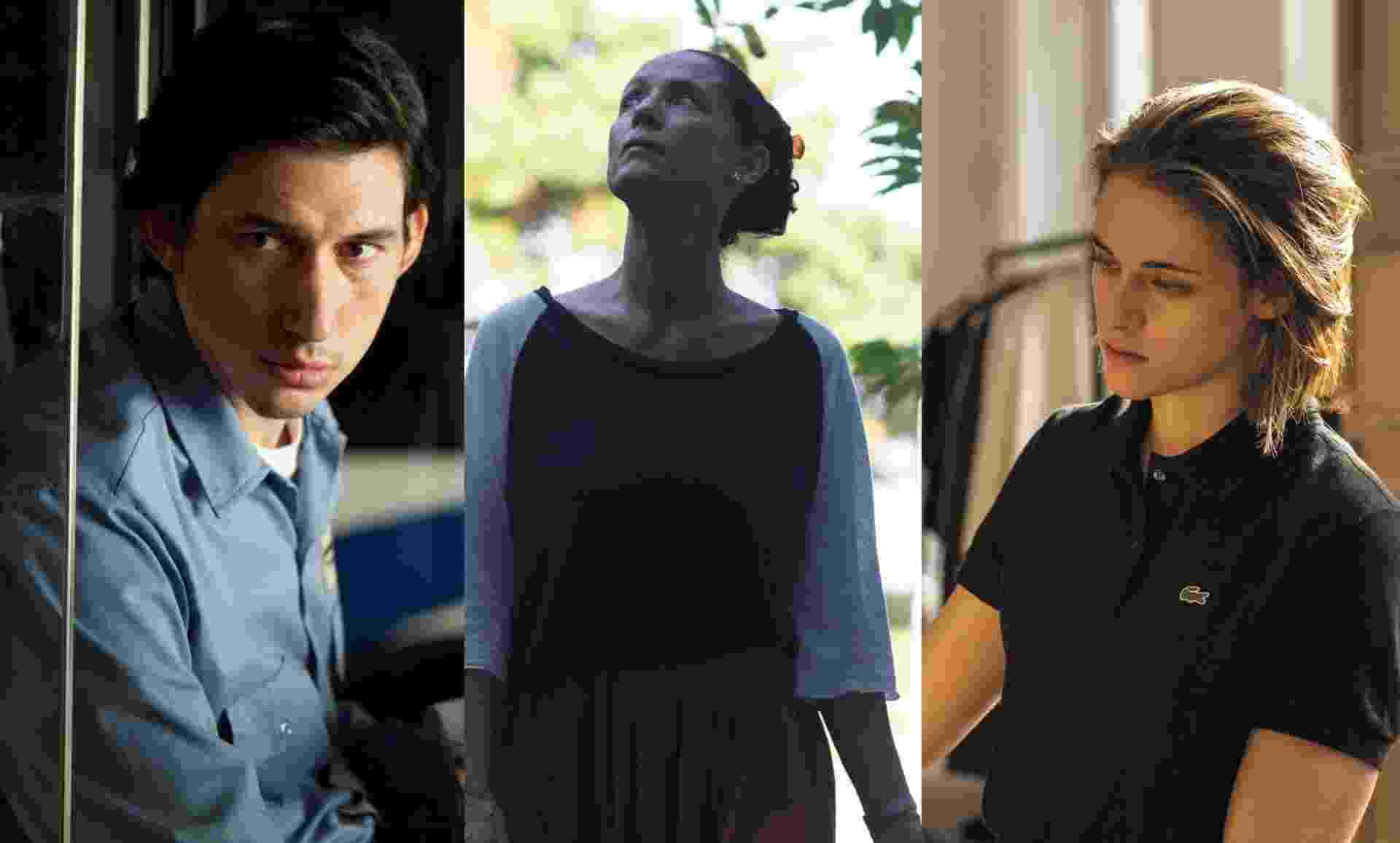 Adam Driver, Sonia Braga e Kristen Stewart estão em filmes concorretos ao prêmio principal do Festival de Cannes 2016 - Reprodução
