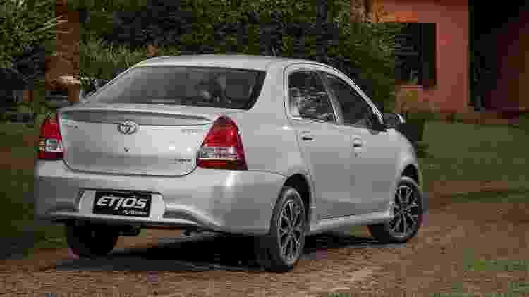 Toyota Etios Sedan - Divulgação - Divulgação