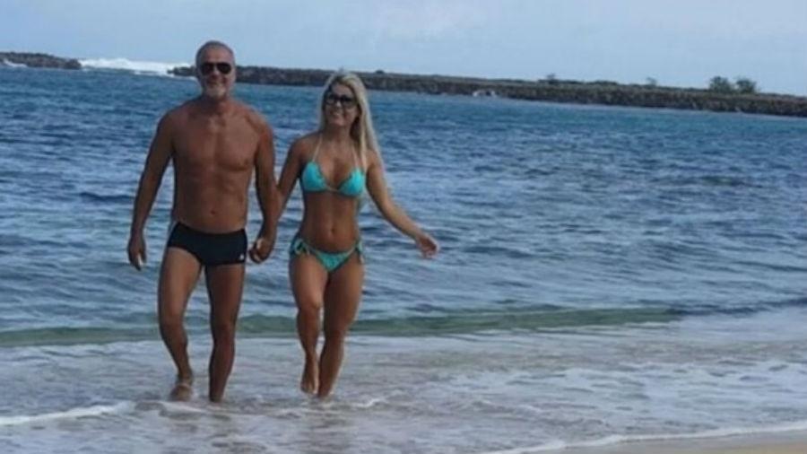 Recém-casados, Kadu Moliterno e Cristianne Rodriguez viajam ao Havaí - Reprodução/Instagram/kadumoliterno_oficial