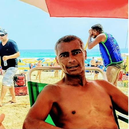 Foto de Romário gerou especulação sobre seu estado de saúde - Reprodução/Instagram