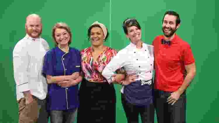 """Equipe do """"Cozinha Amiga"""", da TV Gazeta - Divulgação - Divulgação"""